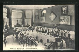 AK Hunstaton, Lynnfield Hall, Dining Room