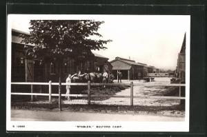 AK Bulford Camp, View of the Stables