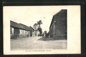 AK Dernancourt, Une Rue, Strassenpartie