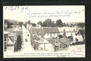AK Anizy-le-Chateau, Vue de la Rue Carnot
