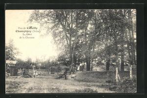 AK Champigny-sur-Marne, Parc de Coeuilly, La Place de la Chanson