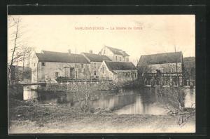 AK Sablonnières, La Scierie de Coton