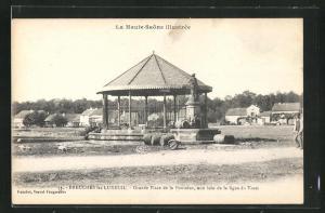 AK Breuches-les-Luxeuil, Grande Place de la Fontaine