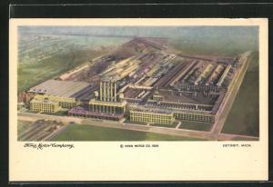 AK Detroit, MI, Ford Motor Company