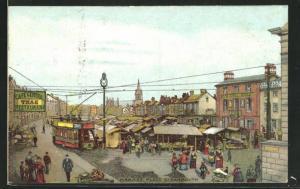 Künstler-AK Great Yarmouth, Market Place