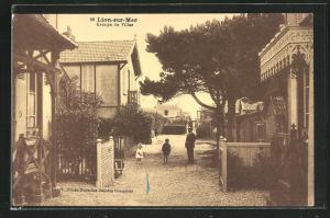 AK Lion-sur-Mer, Groupe de Villas