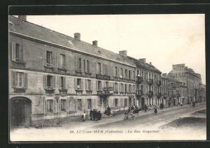 AK Luc-sur-Mer, La Rue Guynemer, Strassenpartie