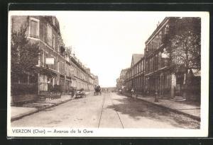AK Vierzon, Avenue de la Gare
