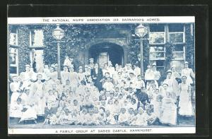 AK Hawkhurst, The National Waif's Association (Dr. Barnardo's Homes) A Family Group at Babies Castle