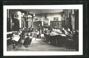 AK Deal, Royal Marines, Men's Reading Room