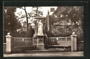 AK Derby, Florence Nightingale Memorial, London Road