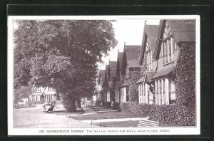 AK Near Ilford, Dr. Barnardo's Homes, The Village Homes for Girls