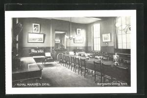 AK Deal, Royal Marines, Sergeants Dining Room