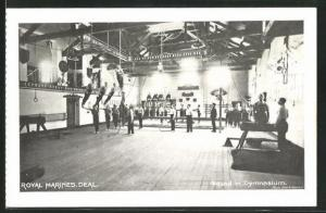 AK Deal, Royal Marines, Squad in Gymnasium