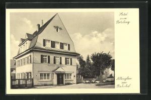 AK Altenglan, Gasthaus zum Potzberg am Bahnhof