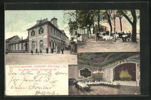 AK Hainichen i. Sa., Gasthaus Ball-Etablissement Amtshof