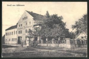 AK Zschieren, Gasthof zum Elbtal von Georg Ohm