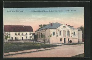 AK Röderau, Gasthaus Waldschlösschen von Alfred Jentsch