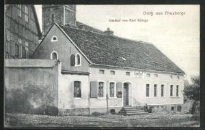 AK Druxberge, Gasthof von Karl Körtge