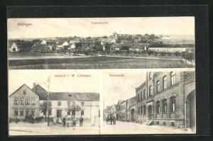AK Hödingen i. Altmark, Gasthof W. Löhmann, Dorfstrasse