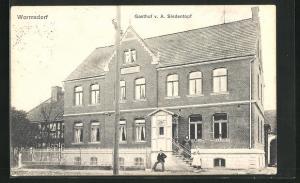 AK Wormsdorf, Gasthof A. Siedentopf