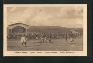 AK Hameln, Kriegsgefangene beim Fussballspiel