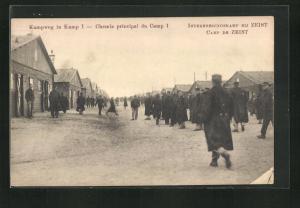 AK Zeist, Kriegsgefangenenlager, Kampweg in Kamp I.