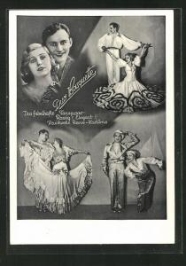 AK Fabelhaftes Tanzpaar Duo Basquette
