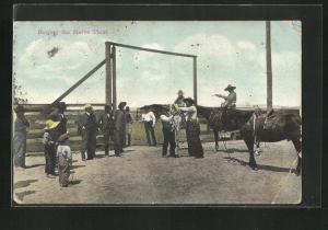 AK Roping the Horse Thief, Bestrafung eines Pferdediebs