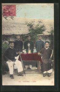 AK Vietrie, Männer vom Stamm der Linhs