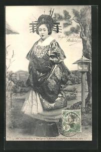 AK Saigon, Artiste Japonaise, japanische Geisha