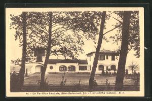 AK Soustons, Le Pavillon Landais, Hotel Restaurant