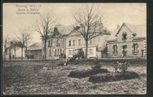 AK Sault-les-Rethel, Deutsche Heldengräber, Feldzug 1914-15