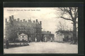 AK Richmond, Entrance to Park and Star and Garter Hotel