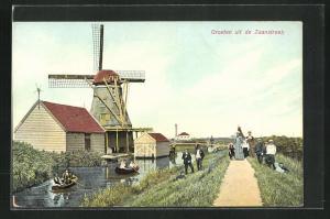 AK Zaanstreek, Kanalpartie mit Windmühle