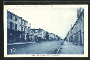 AK La Creche, Grand-Rue, Café du Commerce