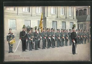 AK Amsterdam, Amsterdamsche Schutterij, Soldaten in Formation