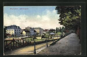 AK Klagenfurt, Blick in den Schillerpark
