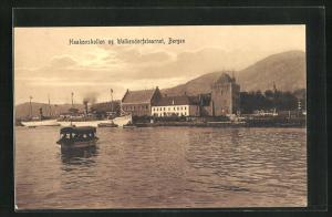 AK Bergen, Haakonshallen og Walkerdorfstaarnet