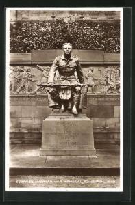 AK Edinburgh, Denkmal Scottish American War Memorial