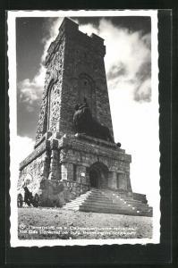 AK Schipka Pass, Das Denkmal der bulg. Befreiung von nahem