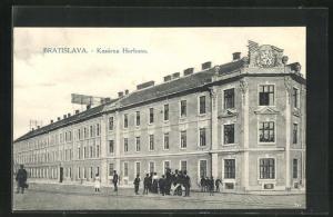 AK Bratislava, Kasárna Hurbana