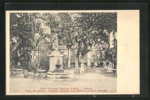 AK Genova, Cafe Concerto Giardino d`Italia, Fontana