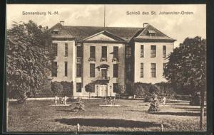 AK Sonnenburg, Schloss des St. Johanniter-Ordens