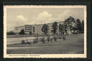 AK Litzmannstadt-Lodz, Sicht zum Reservelazarett