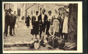AK Trebinje, Narodna Nosnja iz Okoline, Einwohner in Tracht