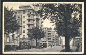AK Genova, Corso Torino, Strassenpartie