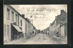AK Ailly-sur-Noye, Rue Sadi-Carnot
