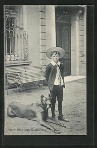 AK Fürst Otto von Bismarck, Enkel des Reichskanzlers