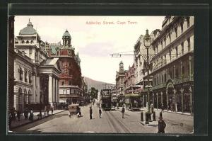 AK Cape Town, Adderley Street with Tramways